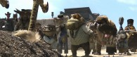 townsfolk from the CG animated movie Rango wallpaper