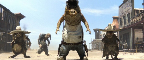 a group of bandits from the CG animated movie Rango wallpaper