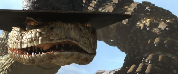 Rattlesnake Jake from the CG animated movie Rango wallpaper