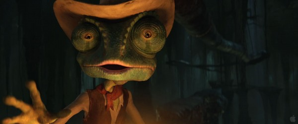 Rango from the movie Rango Wallpaper