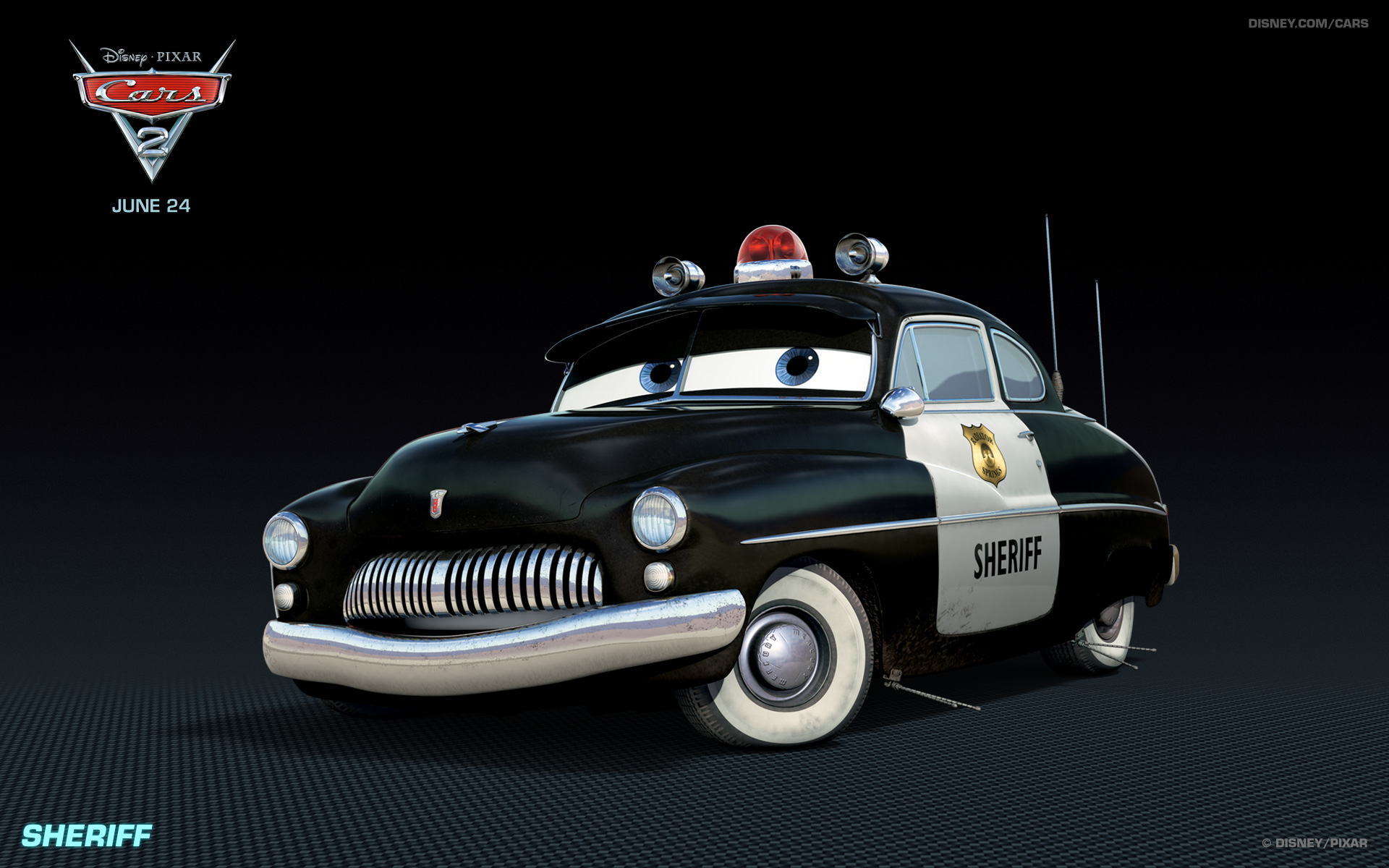 Sheriff From Disneys Cars Movie Wallpaper Click Picture For High