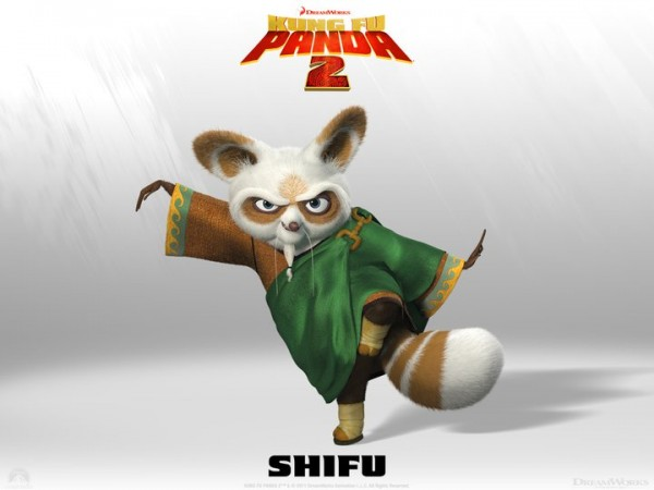 Master Shifu from Kung Fu Panda 2 Dreamworks CG animated movie wallpaper