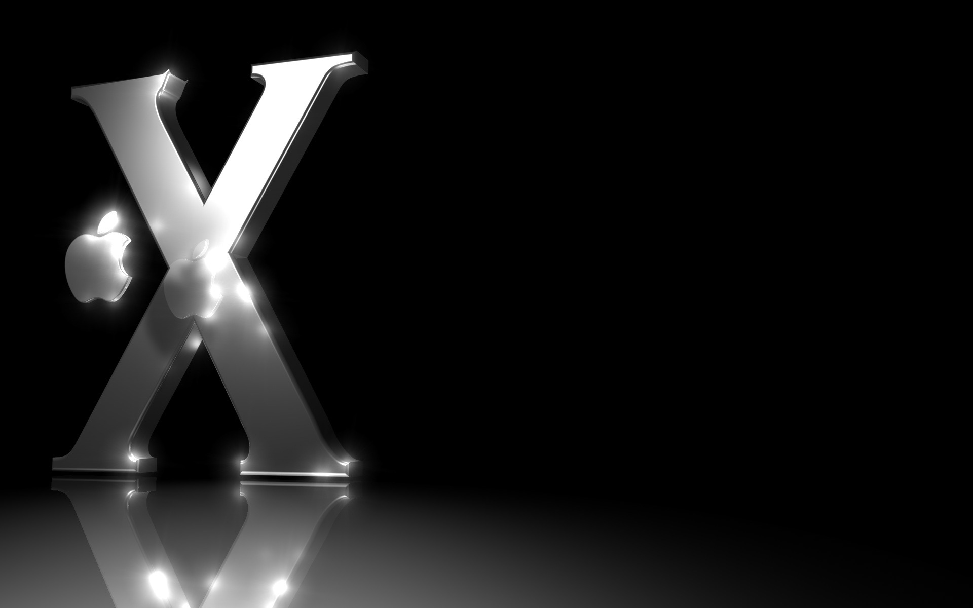 apple mac os x logo desktop wallpaper