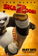 movie poster image of Po from Kung Fu Panda 2 doing a high kick