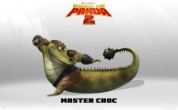 Master Croc from Kung Fu Panda 2 animated Movie HD Wallpaper
