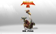 Mr Ping, Po's father, from Kung Fu Panda 2 animated Movie HD Wallpaper
