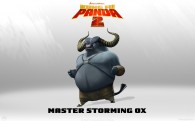 Master Storming Ox from Kung Fu Panda 2 animated Movie HD Wallpaper