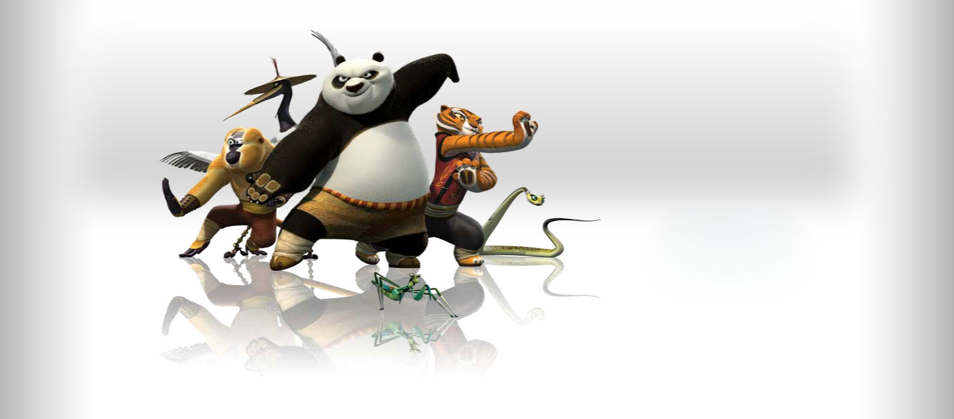 the furious five from kung fu panda 2 desktop wallpaper