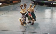 EB and the Easter Bunny from the CG animated movie Hop from Universal Pictures