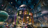 the candy factory from the CG animated movie Hop from Universal Pictures