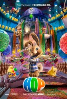 EB the easter bunny in the easter candy factor from the movie Hop wallpaper