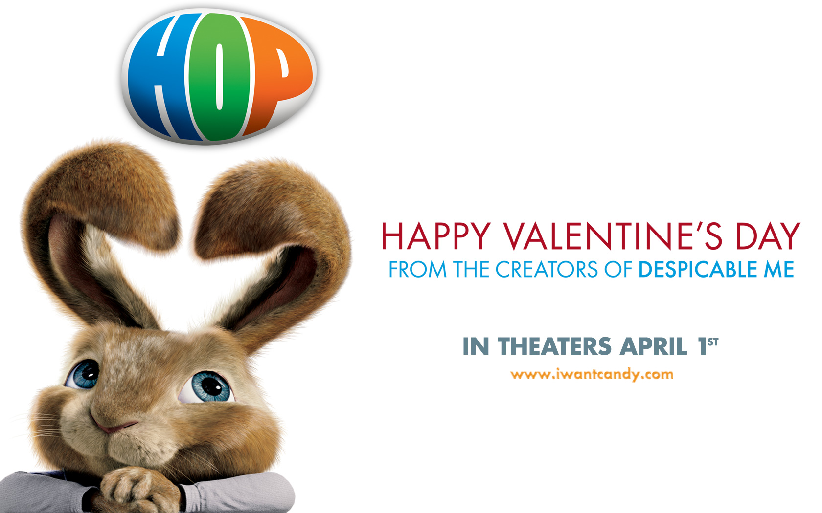 An Easter Bunny Valentine From Hop Wallpaper   Click Picture For High  Resolution HD Wallpaper