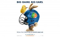 EB in a football helmet with Carlos from the animated movie Hop wallpaper picture