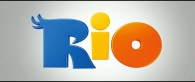 title logo from the animated movie Rio wallpaper picture
