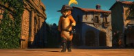Puss in Boots from the Dreamworks animated movie wallpaper