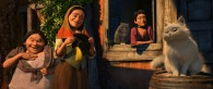 townspeople from the Dreamworks animated movie Puss in Boots wallpaper