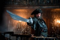 the pirate Blackbeard from Pirates of the Caribbean On Stranger Tides movie wallpaper
