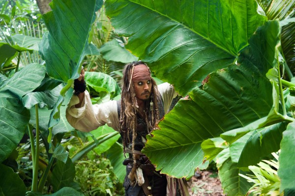 Jack Sparrow from Pirates of the Caribbean On Stranger Tides movie wallpaper