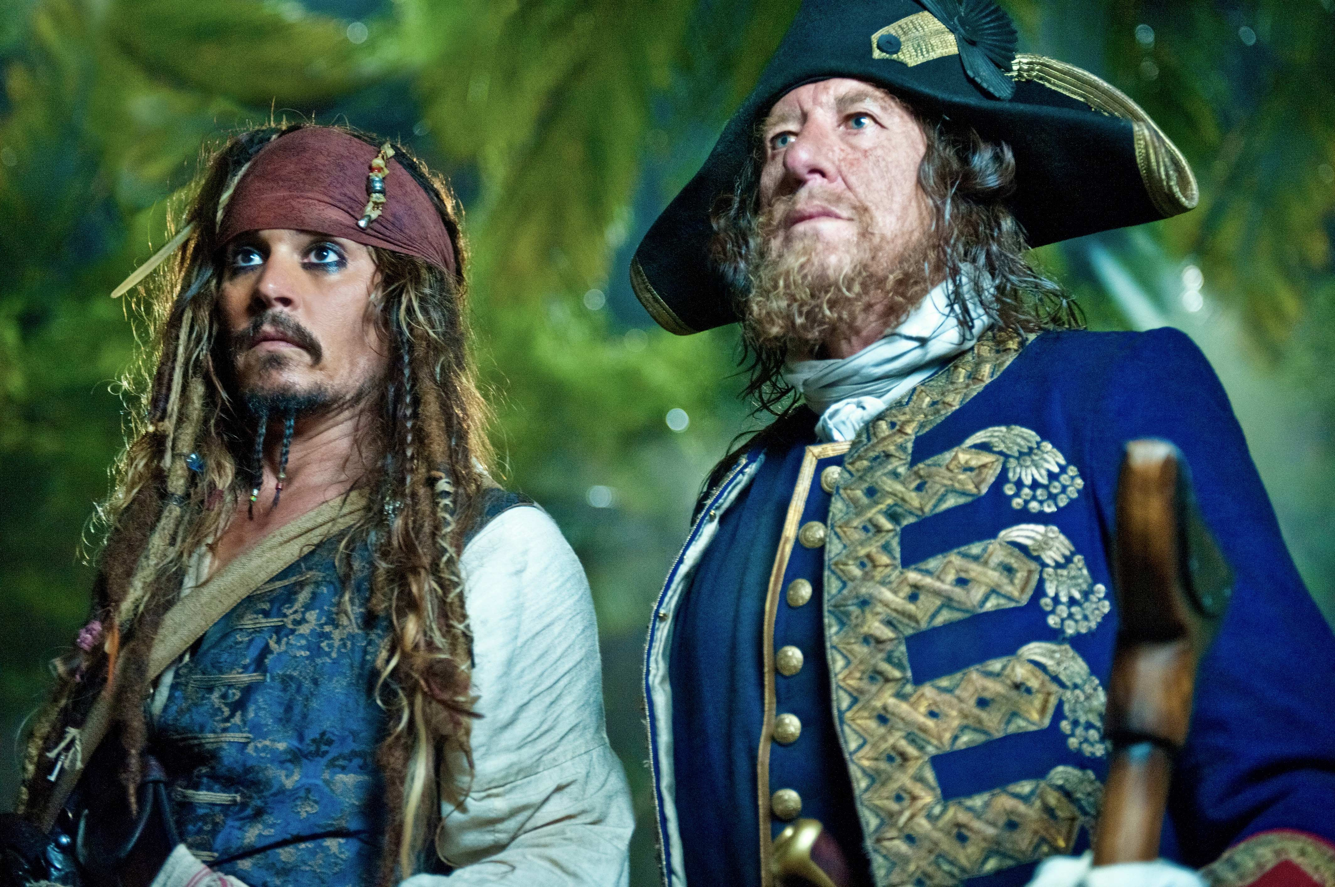 Jack sparrow and barbossa from pirates of the caribbean desktop jack sparrow and barbossa from pirates of the caribbean wallpaper click picture for high resolution hd wallpaper altavistaventures Image collections