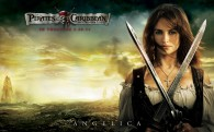 Angelica from Pirates of the Caribbean 4 On Stranger Tides HD Wallpaper