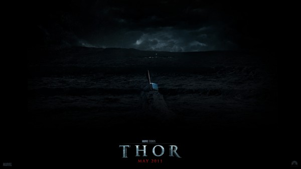 Thor's hammer from the Marvel Studios movie Thor wallpaper