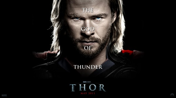 Thor the God of Thunder from the Marvel Studios movie Thor wallpaper