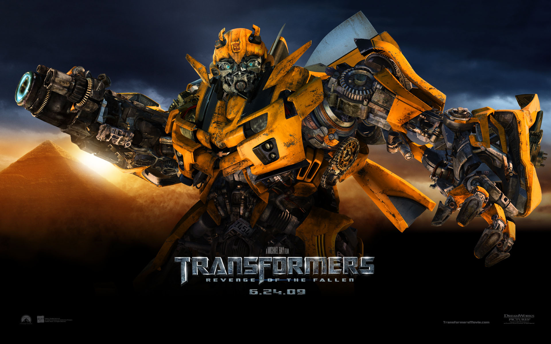bumble bee from transformers revenge of the fallen movie desktop