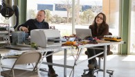 Jane Foster and Erik Selvig from the Marvel Studios movie Thor wallpaper
