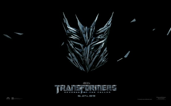 Transformers logo from Transformers Revenge of the Fallen movie HD Wallpaper