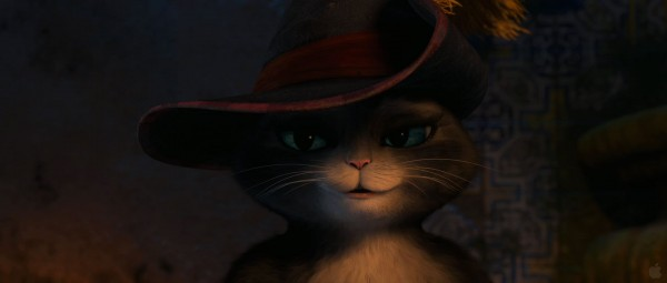 Kitty Softpaws from Dreamworks Puss in Boots movie wallpaper