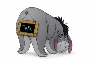 Eeyore the donkey from Winnie the Pooh wallpaper