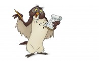 Owl from Winnie the Pooh wallpaper
