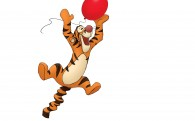 Tigger the tiger from Winnie the Pooh wallpaper