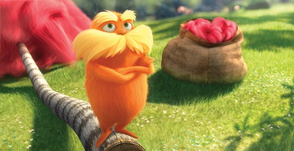 The Lorax from Dr. Seuss The Lorax Movie 2012 wallpaper