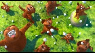 bears and raining marshmallows from Dr. Seuss The Lorax Movie 2012 wallpaper