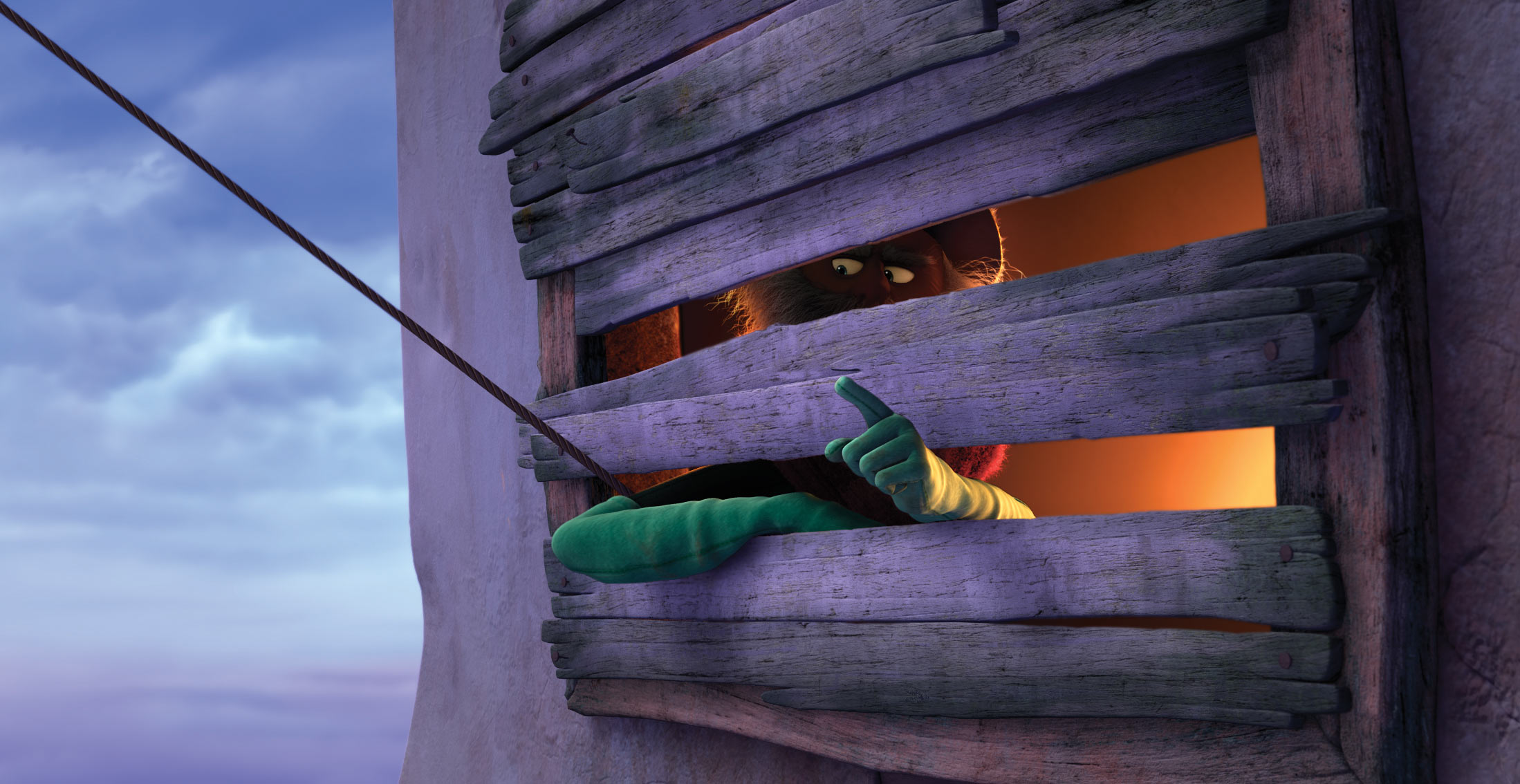 The Once-Ler from Dr. Seuss The Lorax Movie Desktop Wallpaper