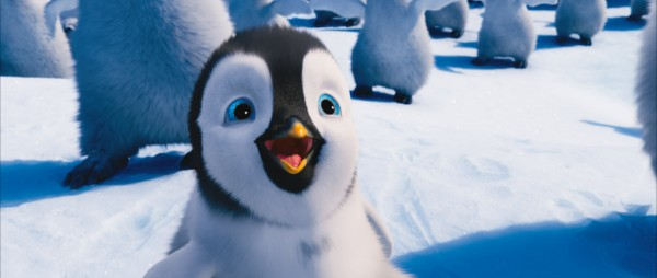 Erik the young penguin in the 2011 movie Happy Feet Two wallpaper