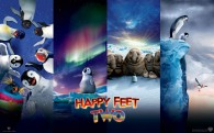 Happy Feet Two 2011 movie wallpaper