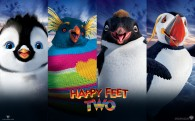 Happy Feet Two 2011 movie penguin characters wallpaper