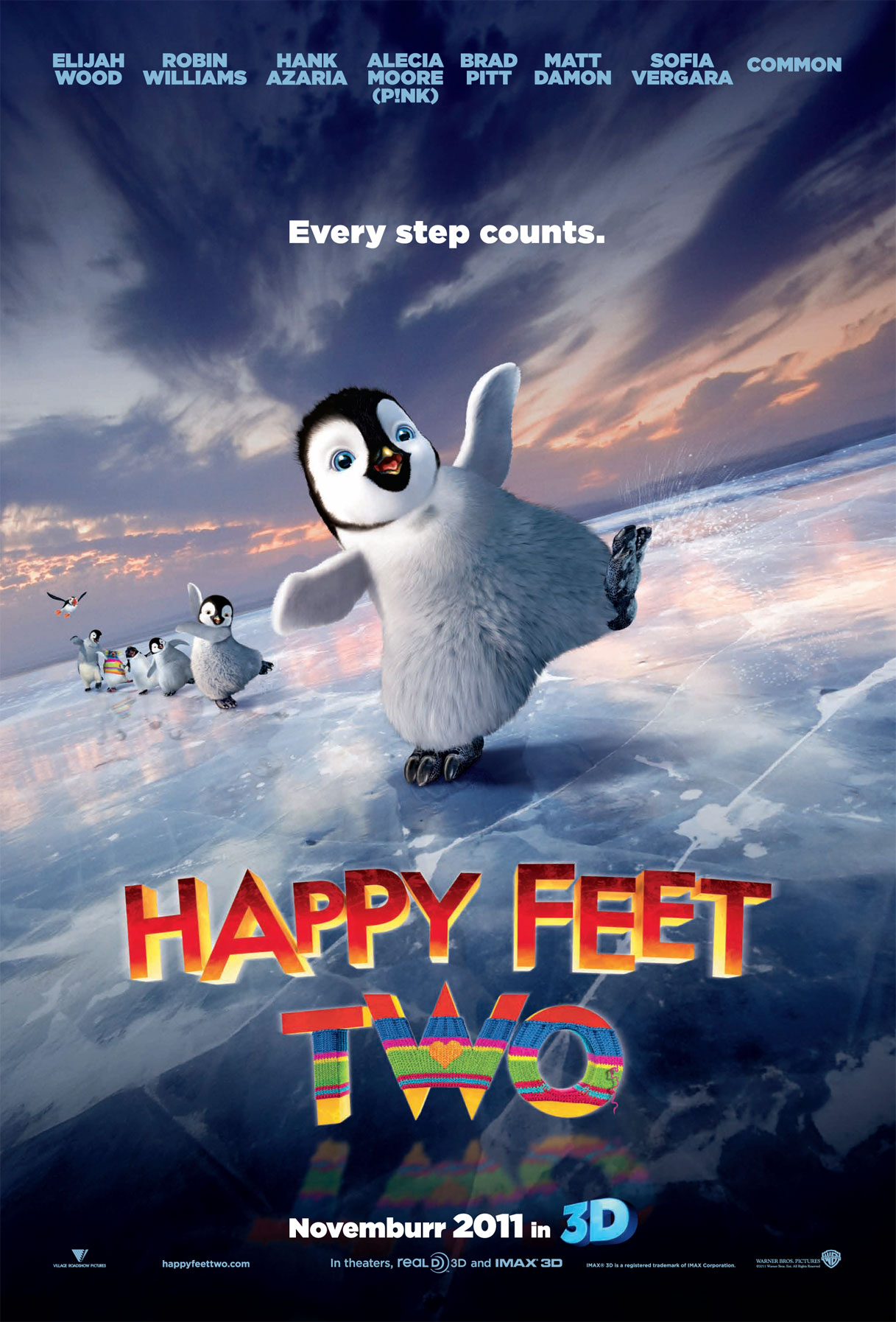 movie poster from happy feet two desktop wallpaper