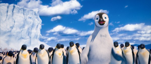 Mumble the penguin from Happy Feet 2 movie wallpaper