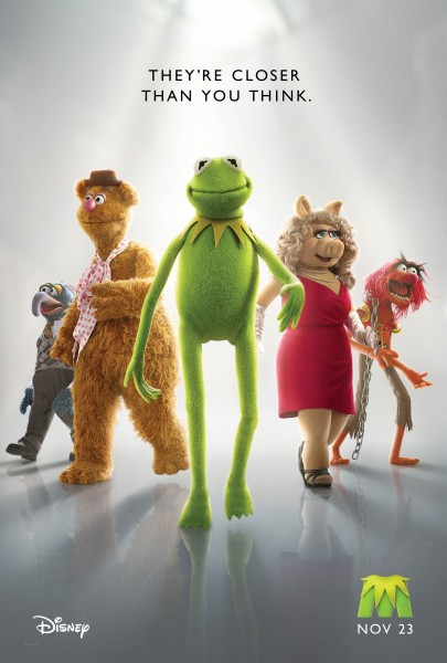 main Muppet characters from the 2011 Muppets movie wallpaper