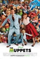 movie poster with the cast of the 2011 Muppets movie wallpaper