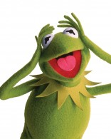 Kermit the frog from the Muppets wallpaper