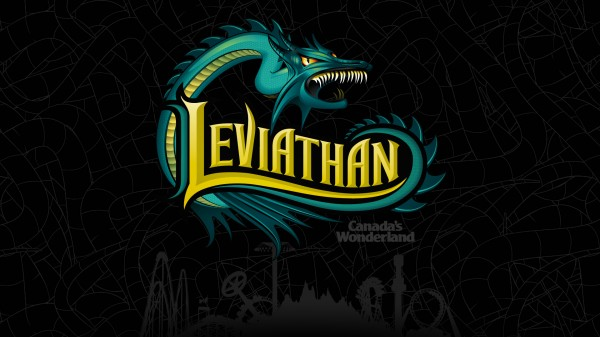 Logo for the Leviathan roller coaster at Canada's Wonderland wallpaper