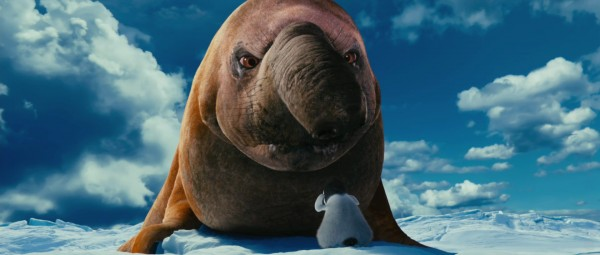 elephant seal from Happy Feet Two movie wallpaper