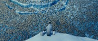 penguin colony in Antarctica from Happy Feet Two movie wallpaper