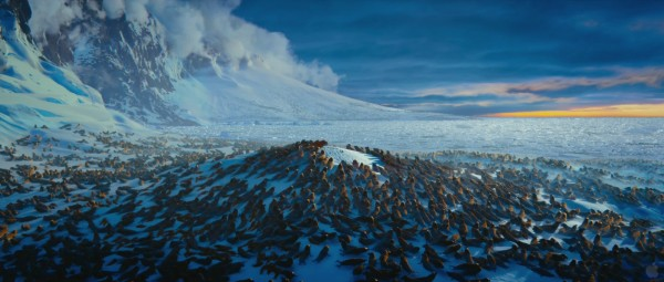 elephant seal colony from Happy Feet Two movie wallpaper
