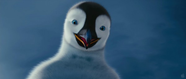 Mumble the penguin from Happy Feet Two movie wallpaper