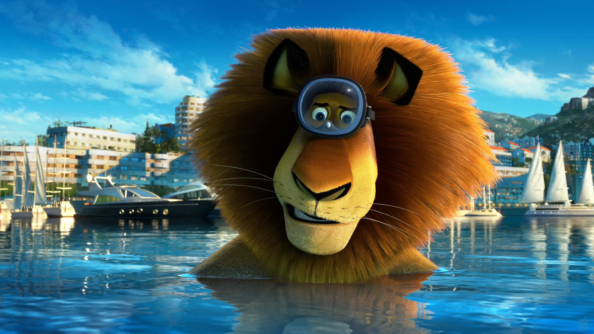 Dreamworks Madagascar 3: Europe's Most Wanted: Alex the Lion